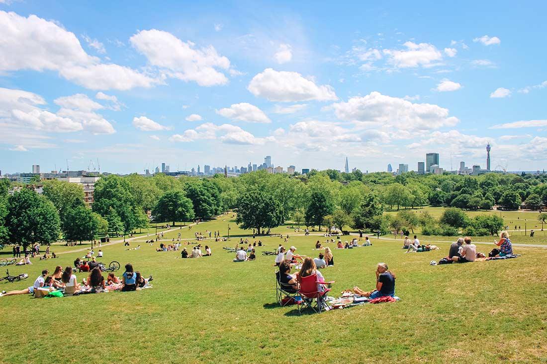 Primrose Hill Park London