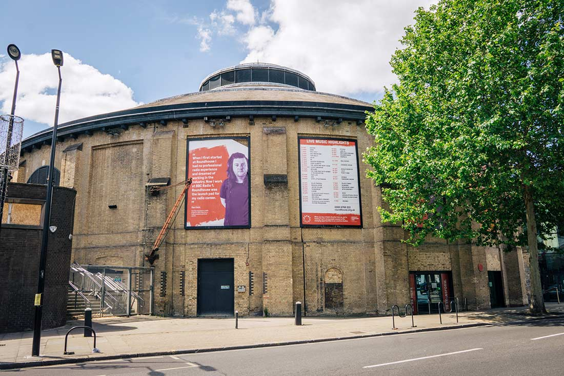 The Roundhouse Camden