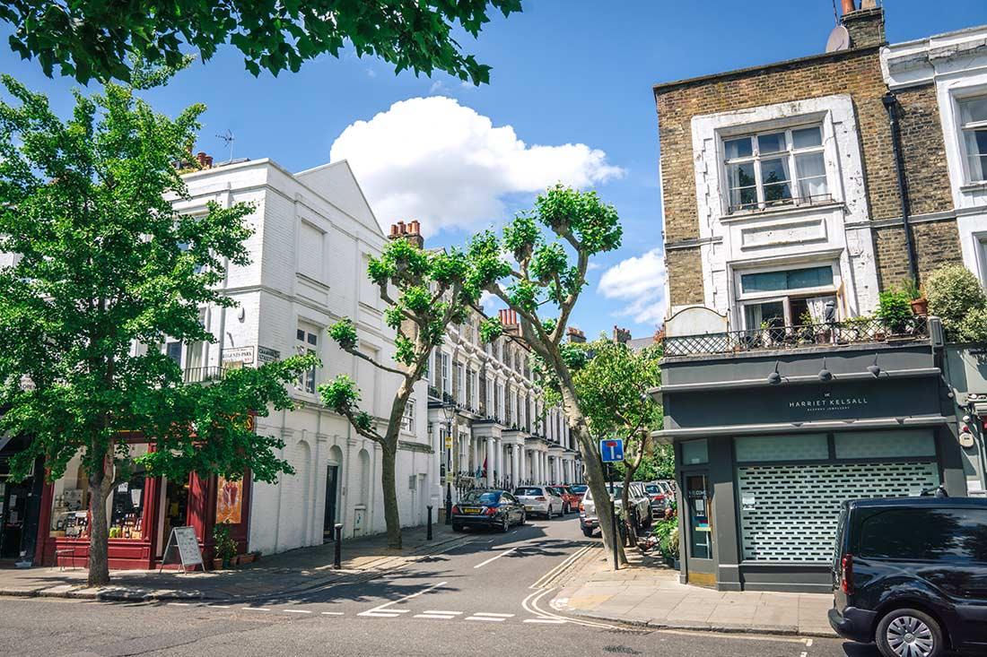 Regent's Park Road Camden London