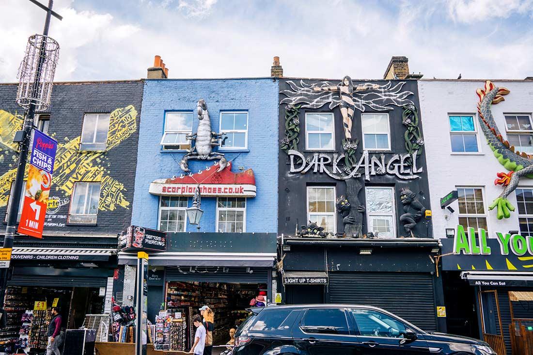 Camden High Street London