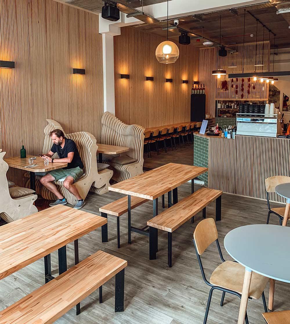 Craving cafe in Tottenham