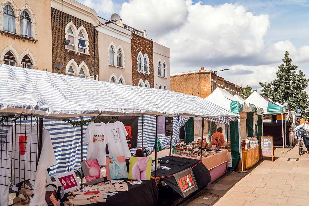 Chatsworth Road Market London