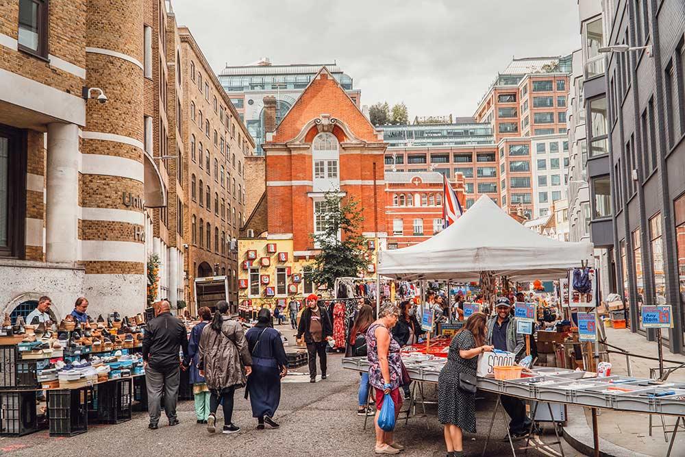 Petticoat Lane Market London