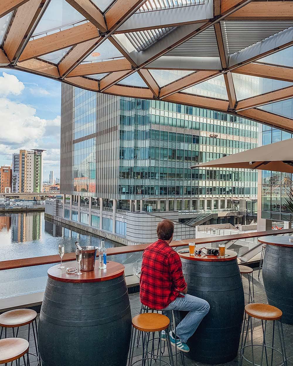 Pergola on the Wharf, Canary Wharf