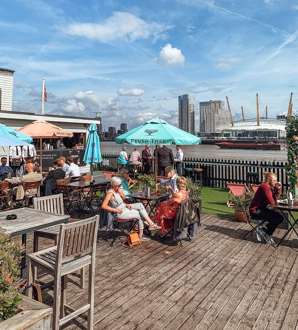 The Gun pub, Docklands